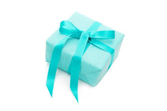 Türkisfarbenes Geburtstaggeschenk