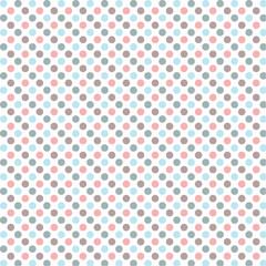 Polka dots pattern.