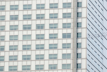 Detail of Skyscraper Windows.