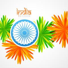 creative indian flag design