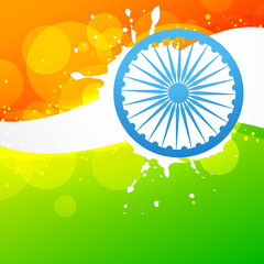 vector indian flag