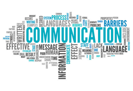 "Word Cloud ""Communication"""