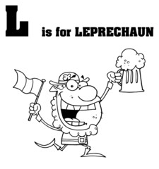L Is For Leprechaun Text