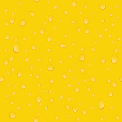 Yellow beer seamless background pattern