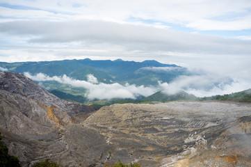Poas volcano range