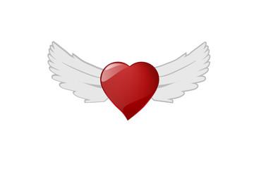 Heart angle, Vector file.