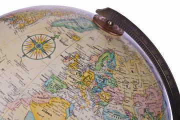 Europe - Globe - World