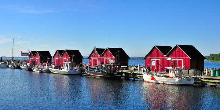 Marina Boltenhagen Fischereihafen