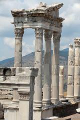Temple of Trajan at Acropolis of Pergamon