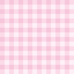 Seamless pink background vector checkered pattern