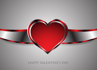 Background happy Valentine's Day