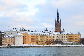 Old Town Stockholm Cityscape