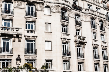 Parisian Architecture in autumn time