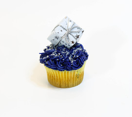 Cupcake with gift