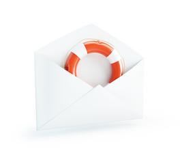 letter Life Buoy