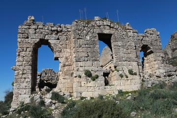 Sillyon Ancient City, Antalya.