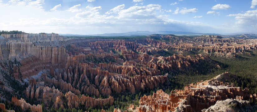 Brice Canyon National Park panarama