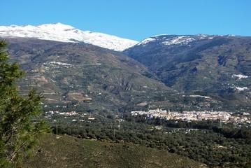 White town in mountains, Orgiva, Andalusia © Arena Photo UK