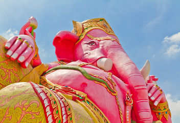 Ganesh is the god of India. Located in Thailand
