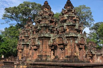 Citadelle des femmes, dans la région d'Angkor