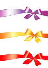bow, ribbon,vector