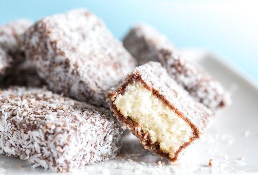 Lamington Sponge Cakes