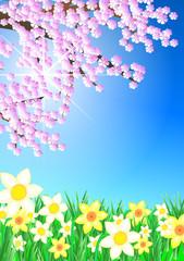 Frühlingsstimmung Hochformat
