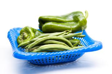 Bohnen mit Paprika