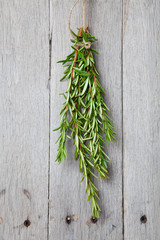 Rosemary Drying