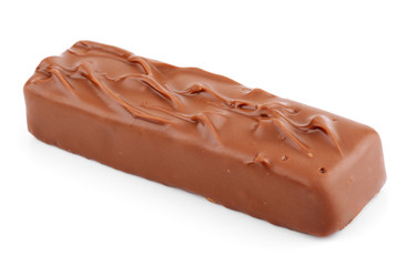Closeup of chocolate bar