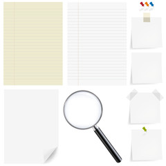 Paper Big Set With Magnifying