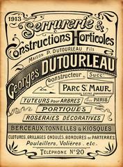 Affiche Art Nouveau