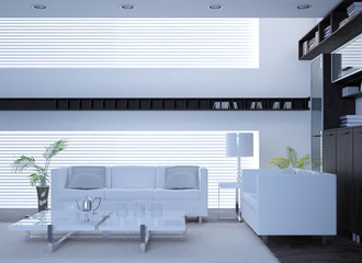 Awesome Modern White Interior Living Room | Architecture