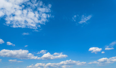 blue sky with clouds, sky background