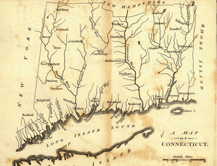 old navigation map