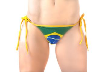 Brazil Football Bikini