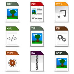 Dateitypen Iconset #2