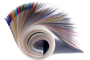 magazine isolated