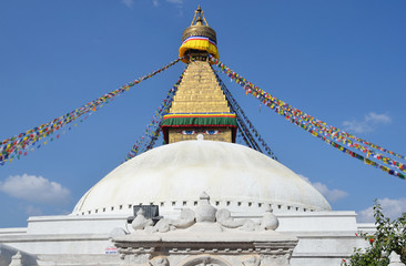 Непал, Катманду, буддистская ступа Боднатх