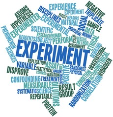 Word cloud for Experiment