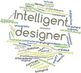 Word cloud for Intelligent designer
