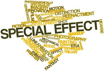 Word cloud for Special effect