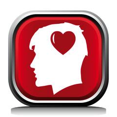 HEART HEAD ICON