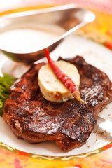 Beef Steak with Butter
