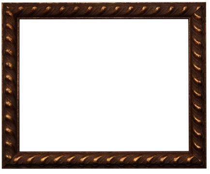 Brown photo frame