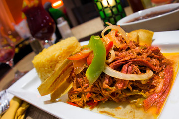 Spanish Ropa Vieja Shredded Beef Meal