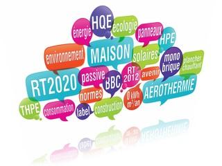 nuage de mots bulles 3d : rt 2020 2012