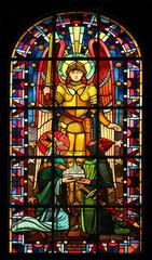 Saint Michael, Notre Dame de Clignancourt church, Paris, France