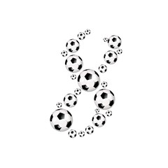 FOOTBALL, SOCCER ABC - 8