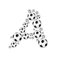 FOOTBALL, SOCCER ABC - A